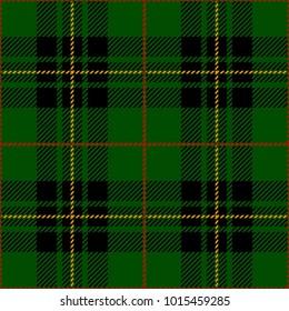 Clan Forbes Tartan Plaid Scottish Pattern