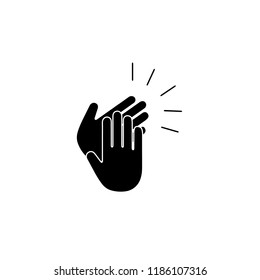 clapping hand icon