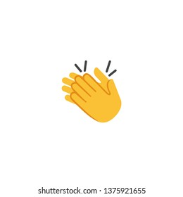 Clapping Hands vector Flat Icon - Vector