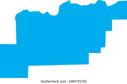 clark county map in state of Idaho