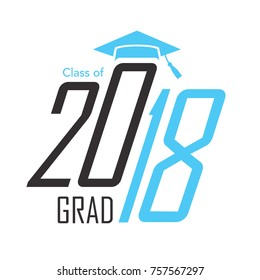 Class of 2018 Congratulations Graduate - Typography
