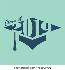 Class of 2019 Congratulations Grad Typography