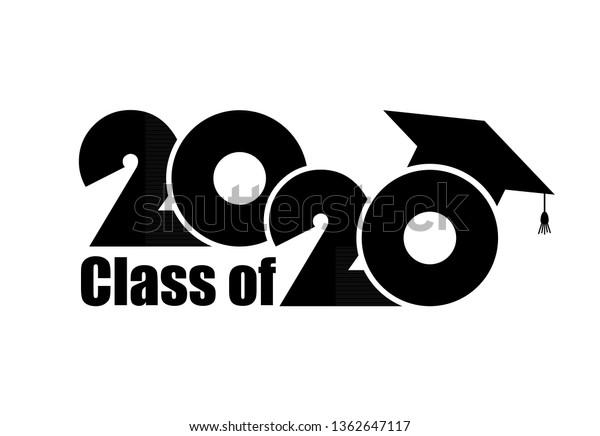 Graduation Hat 2020.Class 2020 Graduation Cap Flat Simple Backgrounds Textures