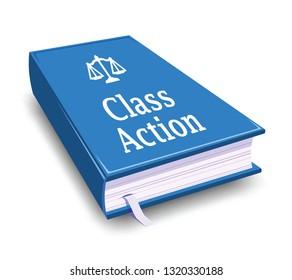 class action, blue book