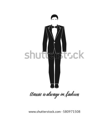 Classic Always Fashion Hand Written Man Stock Vector (Royalty Free ... 65be41ca5df