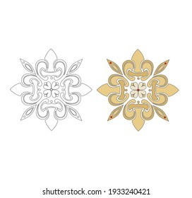 CLASSIC ARTISTIC DECORATIONS AND EMBLEMS ANCIENT ROMAN AND GOTHIC STYLE, FRIEZES AND DECORATIVE STENCILS
