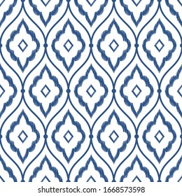 Classic blue - color of the year 2020 for fashion. abstract monochromatic design seamless patterns. Graphic modern pattern. Simple graphic design.