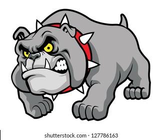 classic bulldog pose