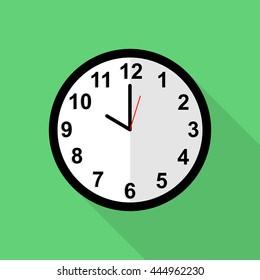 Classic clock icon, 10 o'clock