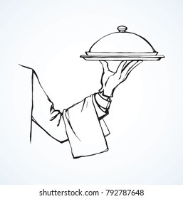 Serving Hands Stock Vectors Images Vector Art Shutterstock