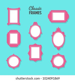 classic frames for home decoration