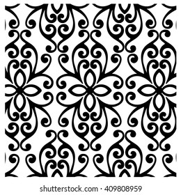 Classic gothic wallpaper background pattern