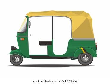 Classic India Rickshaw