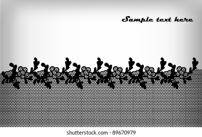 Classic lace pattern background