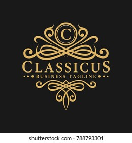 Classic - Luxurious Letter C Logo Template