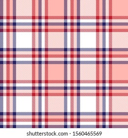 Classic Modern Plaid Tartan Seamless Pattern in Vector - This is a classic plaid, checkered, tartan pattern suitable for shirt printing, fabric, textiles, jacquard patterns, backgrounds and websites