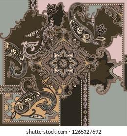 classic paisley design