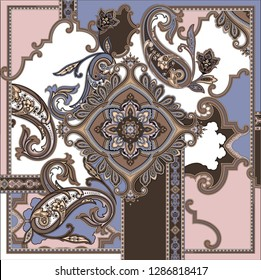 classic paisley print