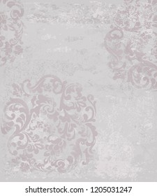 Classic pattern vintage Vector. Beautiful ornament decor. Royal luxury texture backgrounds. Floral decoration intricated details