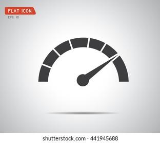 Classic Performance measurement. Icon Vector, logo illustration