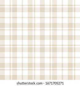 Classic Plaid Tartan Seamless Pattern for shirt printing, fabric, textiles, jacquard patterns, backgrounds and websites
