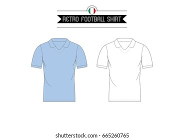 Classic Retro Football Shirt // Italian Club
