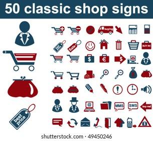 Classic Shop Signs