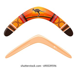 Classic and traditional boomerang