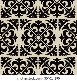 classic two-tone pattern. contrasting color.