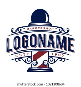 Barbershop Logo Images Stock Photos Vectors Shutterstock