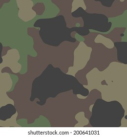 Classic woodland camo texture vector. 200+ camo textures in my portfolio.