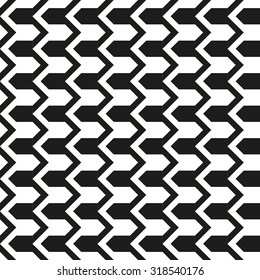 Classical black and white pattern