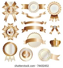 classical emblem set