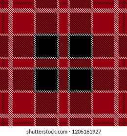 Classical textile print with checkers and stripes. Trendy fabric design with English and French motifs. Seamless vector pattern with autumn palette. Template for plaids, shirts, suits, dresses.