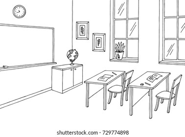 Images of drawing classroom