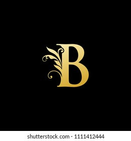 Classy Elegant B Letter Logo