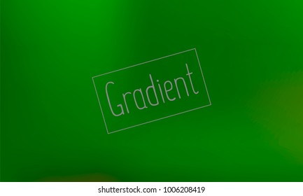 Classy and Good Looking Dark Green Gradient with Text