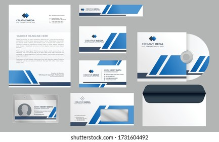 Clean Corporate business stationary design