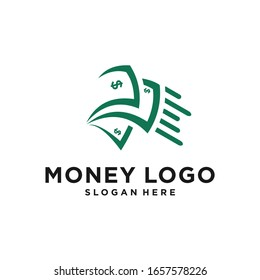 clean and elegant dollar currency logo