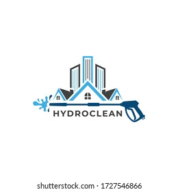 Clean House logo designs -Cleaning Service logo vector,Sparkle star, fresh smile creative symbol concept. Wash, swirl, laundry, cleaning company abstract business logo. Housekeeping