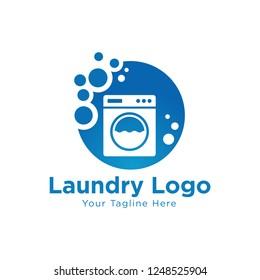 Clean and Housekeeping service logo vector design. Fresh Clean Logo Template Design Vector