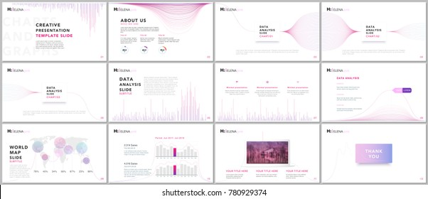 Clean and minimal presentation templates. Business infographic. Brochure cover vector design. Presentation slides for flyer, leaflet, brochure, corporate, marketing, advertising, annual report, banner