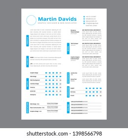 Clean Resume Design/CV Desgign/ Resume Template