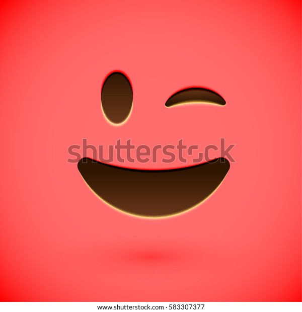 Clean And Shiny >> Clean Shiny Smiley Face Emoticon Vector Stock Vector Royalty Free