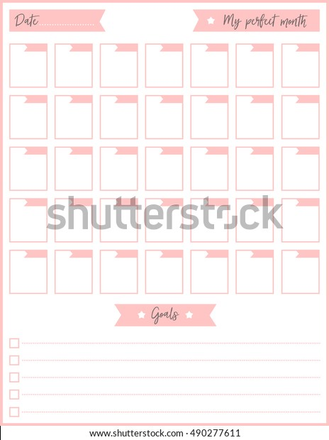 photo about Printable to Do List Cute identified as Contemporary Design and style Every day Planner Vector Template Inventory Vector
