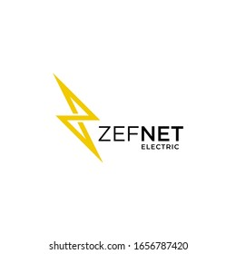 Clean and unique logo design of power or energy industry with clear background - EPS10 - Vector.