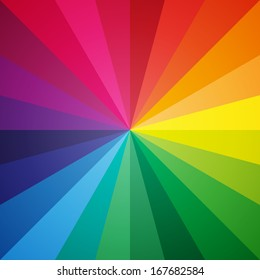 Clean vector color spectrum modern background