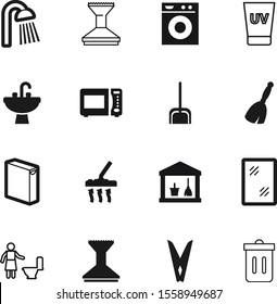 clean vector icon set such as: sunscreen, board, industry, head, kitten, basin, shirt, job, everyday, peg, broomstick, nobody, windows, recycle, can, delete, dinner, clothespin, sunblock, wet, string