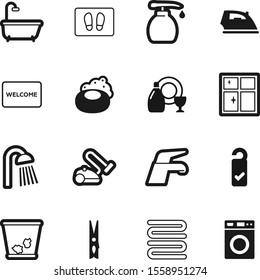 clean vector icon set such as: press, showering, vacuum, gel, light, peg, cosmetic, windows, window, plate, contemporary, trashcan, hot, pump, basket, garbage, room, nozzle, bubble, face, skin, cloth