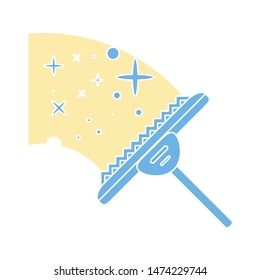 cleaner icon. flat illustration of cleaner vector icon. cleaner sign symbol